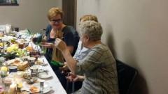 Burmistrz Elżbieta Domańska wzięła udział w Wigilii Stowarzyszenia Seniorów Dzierzgońskich - 13.12.2017