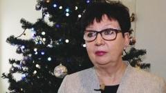 Ewa Dąbska, Wójt Gminy Stegna składa życzenia świąteczno – noworoczne - 22.12.2017