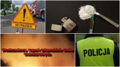 Uciekał przed policją, bo miał narkotyki. Dachujące pojazdy i zagrożenia czadem. Weekendowy raport sztumskich służb mundurowych – 02.01.2018