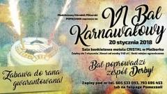 Zapraszamy na VI Bal Karnawałowy z zespołem Derby w Malborku - 20.01.2017