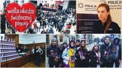 Mundurowi podsumowują 26 Finał WOŚP w Malborku - 15.01.2018