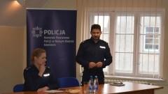 Nowy Dwór Gdański: Odprawa roczna policjantów. - 19.01.2017