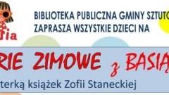 Ferie 2018 z Basią w Bibliotece w Sztutowie! - 30.01- 03.02.2018