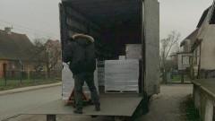 Dzierzgoń: Pomoc żywnościowa dotarła do magazynu przy ul. Zawadzkiego. Zaplanuj kolejkę – 08.02.2018