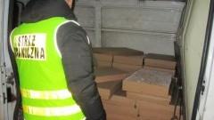 Straż Graniczna udaremniła przemyt 210 tysięcy papierosów! - 02.02.2018