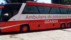 Ambulans do pobierania krwi w Malborku! - 16.02.2018