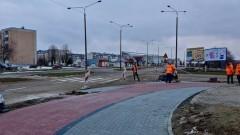 """Zakres realizacji projektu """"ścieżek rowerowych"""" w Malborku - 19.02.2018"""