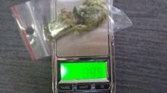 """Chciał wiedzieć ile nosi """"towaru"""". 18- latek aresztowany z marihuaną i wagą elektroniczną! - 19.02.2018"""