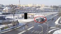 Malbork: Tir nie wyhamował i uderzył w osobówkę - 22.02.2018