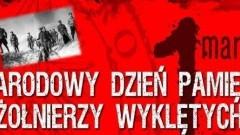 """Narodowy Dzień Pamięci """"Żołnierzy Wyklętych"""" w Dzierzgoniu - 01.03.2018"""
