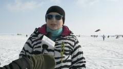SnowKite na zamarźniętym zalewie, weekend po weekendzie na lodzie w Kątach Rybackich. Zobacz wideo! - 03.03.2018