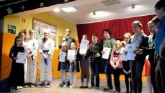 """Szkolny konkurs """"Mój Talent"""" w Szkole Podstawowej nr 9 w Malborku"""