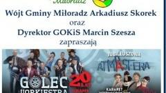 Miłoradz : Zapraszamy mieszkańców na widowisko artystyczne w Ergo Arenie