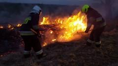Powiat malborski: Podpalacze traw grasują. Od połowy marca strażacy gasili pożary łąk i nieużytków 26 razy!
