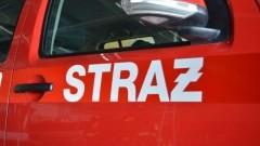 Pożary traw oraz pożar samochodu osobowego w Junoszynie - raport nowodworskich służb mundurowych