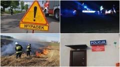 Nietrzeźwi kierowcy, pożar samochodu i nietypowa interwencja na zamku. Weekendowy raport sztumskich służb mundurowych