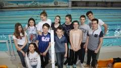 Niezwykle owocne zawody malborskich pływaków w Poznaniu.