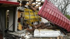 Gmina Dzierzgoń: Katastrofa budowlana w m. Blunaki. Wybuch zniszczył dużą część domu jednorodzinnego