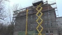 Sztum: W Szpitalu Polskim trwa remont dachu za prawie 800 tys. zł!