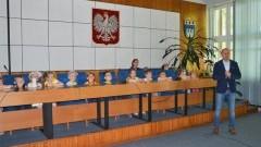 Nowodworskie przedszkolaki z wizytą w Urzędzie Miejskim.