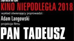 """Sztumskie Kino Powiśle zaprasza na film """"Pan Tadeusz"""" z muzyką na żywo."""