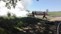 Płonący samochód, kolizja i spadające konary drzew. Weekendowy Raport sztumskiej straży pożarnej