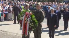 Prezydent Andrzej Duda złożył kwiaty pod Pomnikiem Rodła. Na zamku przemawiał do mieszkańców