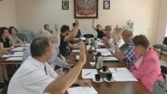 Radni ze Stegny udzielili pomocy finansowej Powiatowi Nowodworskiemu na budowę chodników