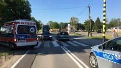 86- letni kierowca nie zauważył pieszej na pasach. 90- letnia kobieta trafiła do szpitala.