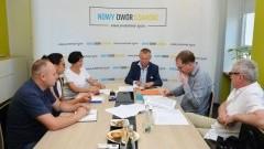 Nowy Dwór Gdański : Szatnie modułowe dla szkółek piłkarskich lokalnego klubu sportowego - LKS Żuławy.