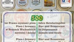 """""""Piwo i browary nad dolną Wisłą dawniej i dzisiaj"""" zapraszamy na wystawę w Malborku"""