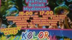 Zapraszamy na Festiwal Baniek Mydlanych i Kolor Fest w Gminie Sztutowo