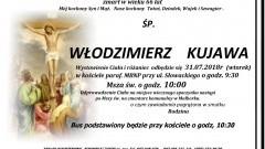 Zmarł Włodzimierz Kujawa. Żył 66 lat.