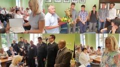 Nowy sprzęt dla OSP. Powołano Dyrektor Szkoły i Przedszkola. Nagrodzono Mistrzów Polski. Uroczysta XLI sesja Rady Gminy Sztutowo (foto, wideo)