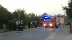 W opuszczonym domu jednorodzinnym ulatniał się gaz. Interwencja służb na ulicy Słowackiego w Malborku.