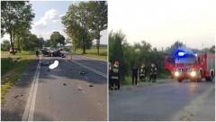 Poważny wypadek na DK 22 w Królewie. W opuszczonym domu jednorodzinnym ulatniał się gaz. Podsumowanie weekendowych działań malborskich strażaków i policji