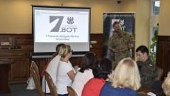 Współpraca żołnierzy WOT z władzami gmin powiatu gdańskiego.