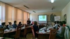 """""""Porady na odpady w gminie Dzierzgoń"""" - szkolenie dla nauczycieli."""