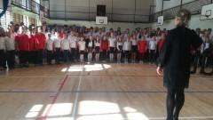 Zaśpiewali Mazurka Dąbrowskiego i dwie inne, wybrane pieśni hymniczne. To wielkie wyróżnienie dla uczniów Szkoły Podstawowej nr 1 w Malborku