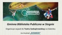 """Wyjazd dla mieszkańców Stegny na musical """"Kosmos"""""""