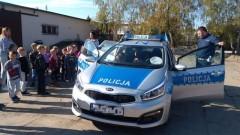 """""""Bezpieczna droga do szkoły"""": Nowodworscy policjanci rozmawiali z przedszkolakami o bezpieczeństwie"""