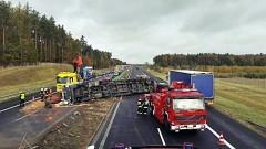 Śmiertelny wypadek na autostradzie A1 - na odcinku pomiędzy Gdańskiem, a Tczewem.