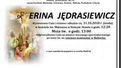 Zmarła Erina Jędrasiewicz. Żyła 92 lata.