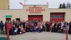 Obchody 100.rocznicy odzyskania niepodległości przez Polskę w Mikoszewie.
