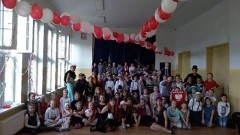 Malbork: Bal w Szkole Podstawowej nr 2 z okazji 100.rocznicy odzyskania niepodległości przez Polskę.