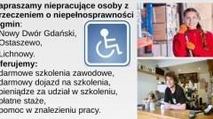 Bezpłatne szkolenia dla mieszkańców Gminy Ostaszewo i Nowego Dworu Gdańskiego.