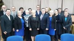 Złożenie ślubowania przez wójta. Pierwsza sesja Rady Gminy Ostaszewo w kadencji 2018 - 2023