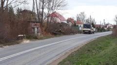 Ruszyły prace związane z przebudową drogi 515. Wycinka drzew w Nowej Wsi Malborskiej.