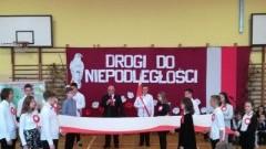 Obchody 100 rocznicy Odzyskania Niepodległości Polski w Zespole Szkół w Tujsku