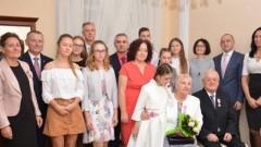 Gmina Nowy Dwór Gdański: Złote Gody Państwa Zofii i Henryka Górskich.